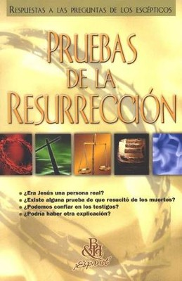 Pruebas de la Resurreccion, Pamfleto (Evidence for the  Resurrection, Pamphlet)  -