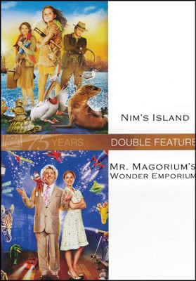 Nim's Island/Mr. Magorium's Wonder Emporium, Double Feature DVD   -