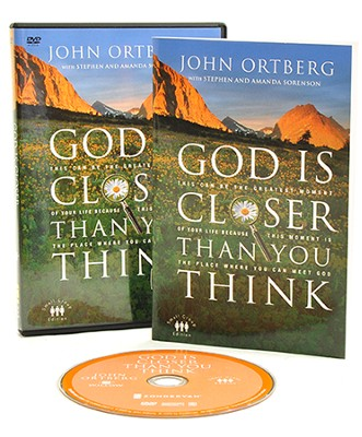 God Is Closer Than You Think, DVD   -     By: John Ortberg, Stephen Sorenson, Amanda Sorenson