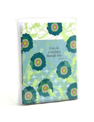 I Can Do All Things, Blank Note Cards, Box of 8  -