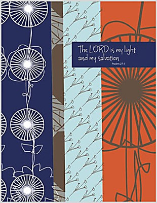 The Lord is My Light, Blank Note Cards, Box of 8  -