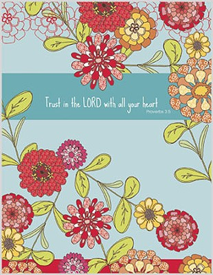 Trust in the Lord, Blank Note Cards, Box of 8  -