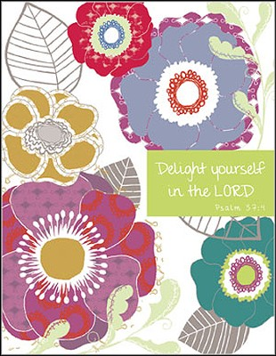 Delight Yourself in the Lord, Blank Note Cards, Box of 8  -