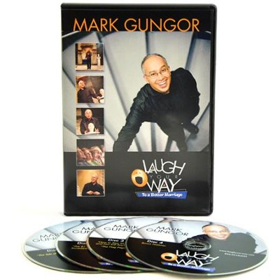 Laugh Your Way to a Better Marriage, Full Seminar on DVD   -     By: Mark Gungor
