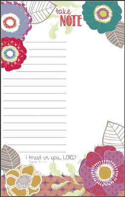 I Trust in You List Pad  -