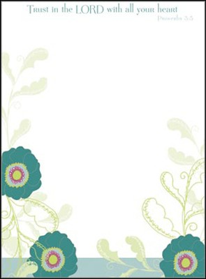 Trust in the Lord Memo Pad  -