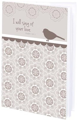 I Will Sing of Your Love Mini Journal  -