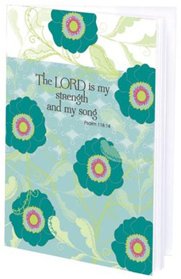 The Lord is My Strength Mini Journal  -