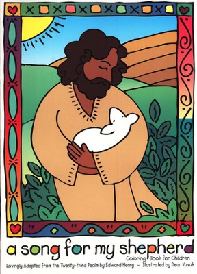 A Song For My Shepherd: Coloring Book for Children   -     By: Dean Vavak