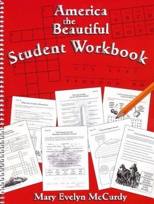 America the Beautiful Student Workbook   -     By: Charlene Notgrass