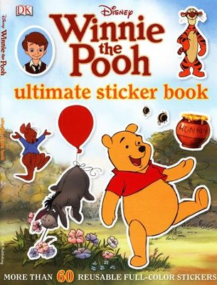 Winnie the Pooh Ultimate Sticker Book  -     By: DK Publishing
