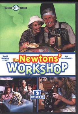 The Newtons' Worshop #2: Word Building 101 & The Germinators, DVD    -