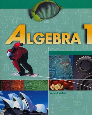 BJU Algebra 1 Grade 9 Student Text (Updated Copyright)    -