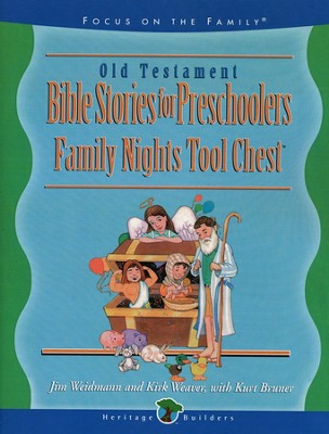 Bible Stories for Preschoolers, Old Testament   -     By: Jim Weidmann