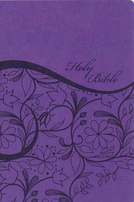 KJV Sisters in Faith Holy Bible--soft leather-look, grape  -     Edited By: Michele Clark Jenkins, Stephanie Perry Moore