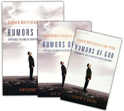 Rumors of God DVD Based Study Kit  -     By: Darren Whitehead, Jon Tyson