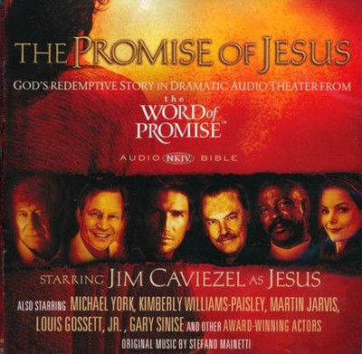 NKJV The Promise of Jesus CD: God's Redemptive Story in Dramatic Audio Theater from The Word of Promise  -
