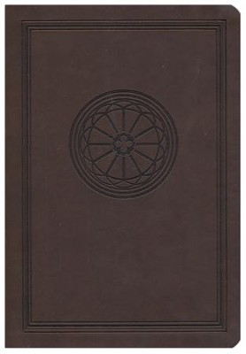 The NKJV Study Bible, Leathersoft dark chocolate  -