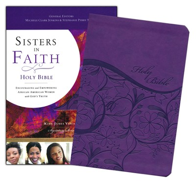 KJV Sisters in Faith Holy Bible--soft leather-look, grape (indexed)  -     Edited By: Michele Clark Jenkins, Stephanie Perry Moore     By: Michele Clark Jenkins(Ed.) & Stephanie Perry Moore(Ed.)