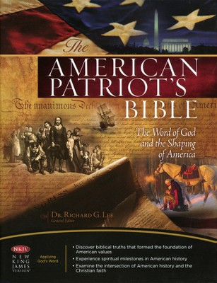 NKJV American Patriot's Bible, hardcover   -
