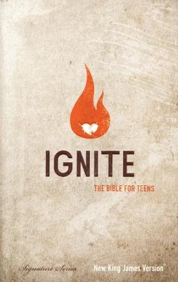 NKJV Ignite: The Bible for Teens, Hardcover  -