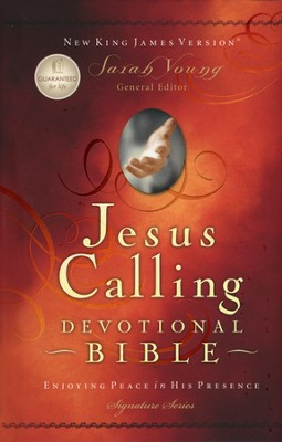 NKJV Jesus Calling Devotional Bible, Padded hardcover   -