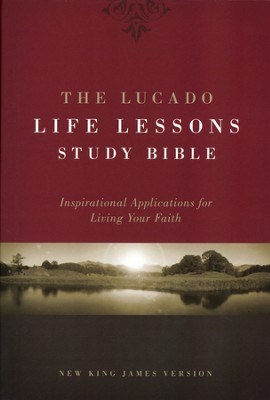 The NKJV Lucado Life Lessons Study Bible, Hardcover   -