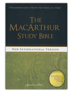 NIV MacArthur Study Bible, Hardcover  - Slightly Imperfect  -     By: John MacArthur