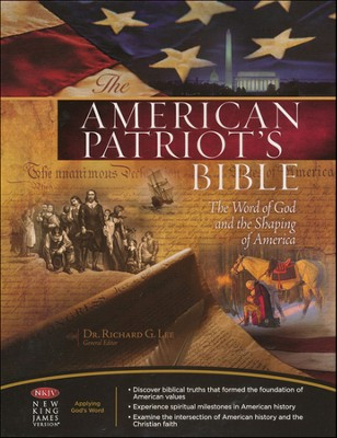 NKJV American Patriot's Bible, Bonded leather, blue   -