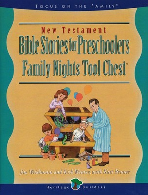 Bible Stories for Preschoolers, New Testament   -     By: Jim Weidman