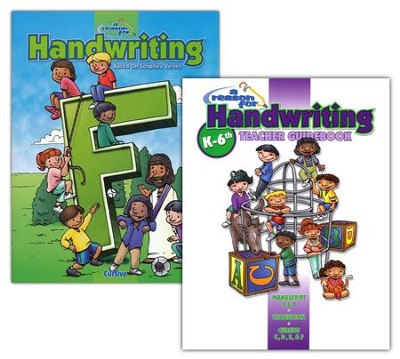 A Reason for Handwriting, Level F: Cursive, Complete Homeschool Set  -