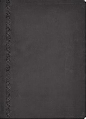 NIV MacArthur Study Bible Leathersoft, Raven, Thumb Indexed  -