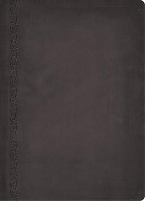 NASB MacArthur Study Bible, Leathersoft, Raven, Thumb Indexed  -