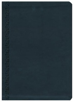 NKJV MacArthur Study Bible, Leathersoft, Raven, Thumb  Indexed   -     By: John MacArthur