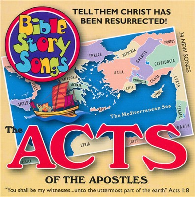 ACTS of The APOSTLES: Tell Them Christ Has Been Resurrected!, Audio CD  -     By: Paula King, Catherine Walker