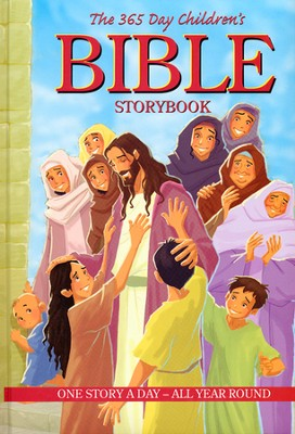 The 365 Day Children's Bible Storybook  -
