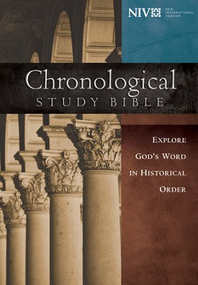 NIV Chronological Study Bible, Hardcover  -