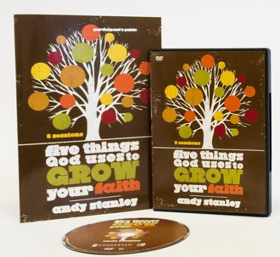 Five Things God Uses to Grow Your Faith Participant's Guide with DVD  -     By: Andy Stanley