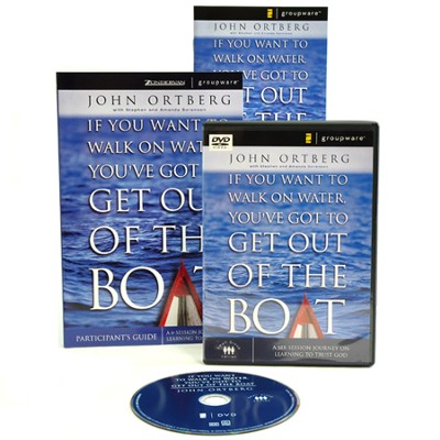 If You Want to Walk on Water, You've Got to Get Out of the Boat Participant's Guide with DVD: A 6-Session Journey on Learning to Trust God  -     By: John Ortberg, Stephen Sorenson, Amanda Sorenson