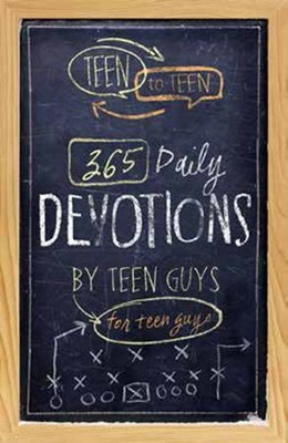 Teen to Teen 365 Daily Devotions by Teen Guys for Teen Guys  -     Edited By: Patti Hummel     By: Patti Hummel, ed.