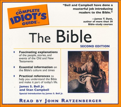 The Complete Idiot's Guide to the Bible - Audiobook on CD  -     Narrated By: John Ratzenberger     By: James Stuart Bell, Stan Campbell