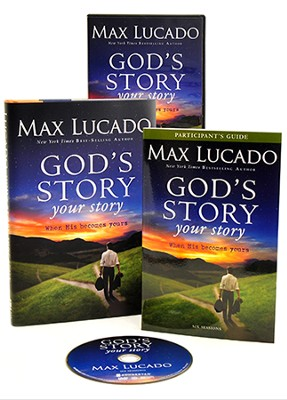 God's Story, Your Story Curriculum Kit: When His Becomes Yours  -     By: Max Lucado