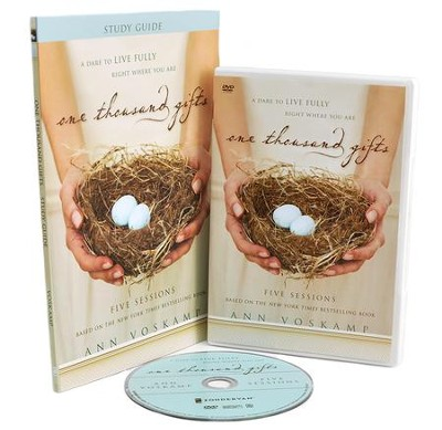 One Thousand Gifts Participant's Guide with DVD: A Dare to Live Fully Right Where You Are  -     By: Ann Voskamp