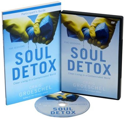 Soul Detox Participant's Guide with DVD: Clean Living   in a Contaminated World  -     By: Craig Groeschel