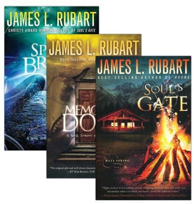 Well Springs Series, Volumes 1-3   -     By: James L. Rubart