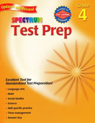 Spectrum Test Prep, 2007 Edition, Grade 4   -