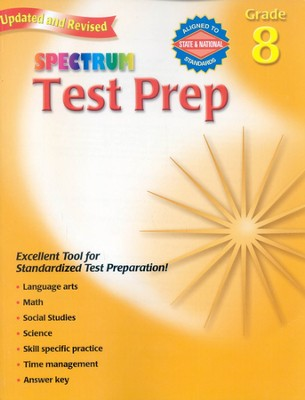 Spectrum Test Prep, 2007 Edition, Grade 8   -