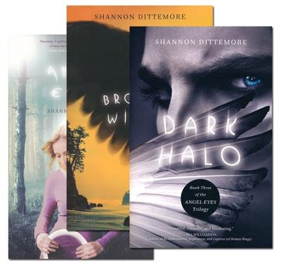 Angel Eyes Trilogy Series, Vols 1-3   -     By: Shannon Dittemore