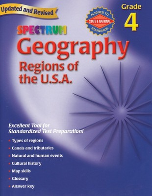Spectrum Geography, 2007 Edition, Grade 4   -