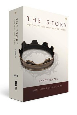 The Story, NIV with DVD: Small Group Kit - includes Getting Started Guide, The Story Adult Curriculum DVD, The Story Participant's Guide Softcover and The Story NIV Hardcover  -